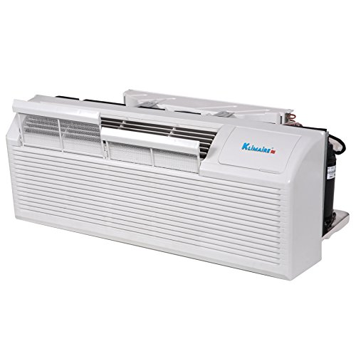 Klimaire KTHN015E5H210-BWG 15000 BTU 9.6 EER PTHP Heat Pump with 5KW Auxiliary Electric Heater Includes Wall Sleeve & Aluminum Back Grille by Klimaire (Image #8)
