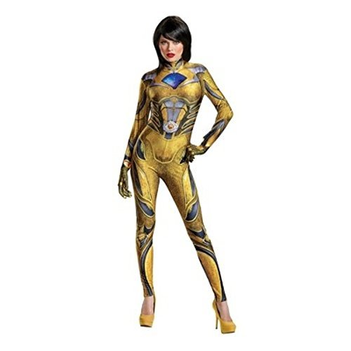Power Rangers Yellow Ranger Adult Costume Small (Purple Ranger Costume)