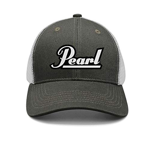 uter ewjrt Adjustable Pearl-Drums-Logo- Snapback Hat Custom Fashion Caps (Apparel Drum Pearl)