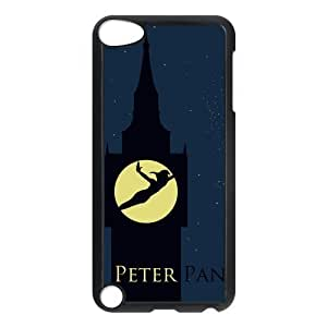 Custom Peter Pan Design Plastic Snap On Case Cover For ipod touch 5 Generation