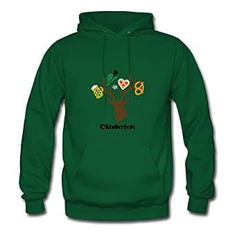 Oktoberfest Bavaria Munich Stag Party Beer Pretzel Sweatshirts Shirts X-large Women Custom-made Green