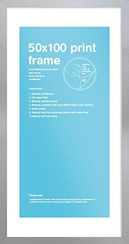 Blanc 50x100cm Cadre Eton GB Eye LTD