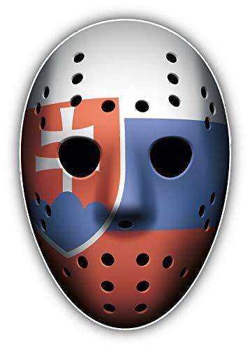 KW Vinyl Magnet Slovakia Flag Ice Hockey Goalie Mask Truck Car Magnet Bumper Sticker Magnetic 5