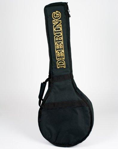 Deering Deluxe Padded Open Back Banjo Gig Bag (Padded Banjo Bag)