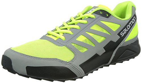 fluoyellow Cross black City pewter Salomon Aero Men SUZ5SqT
