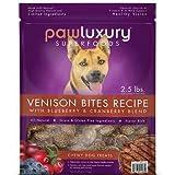 Pawluxury Expect More Venison Bites Recipe Chewy Dog Treats, 40 oz.