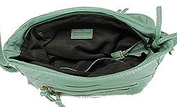 Scarleton Fashion Lace Crossbody Bag H174053 - Mint