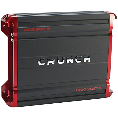 Crunch POWERZONE 2-Channel Class AB Amp (1,300 Watts) PZX...