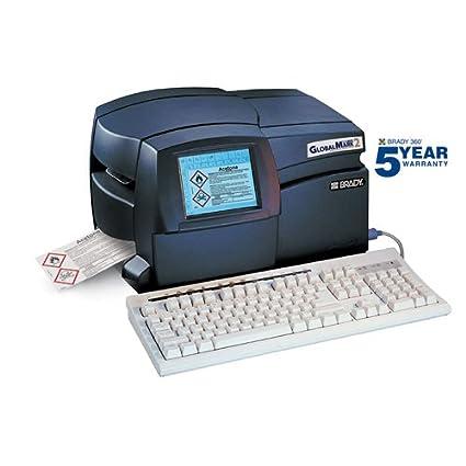 Brady Bradyid Globalmark2 Incienso Set de impresora de corte ...
