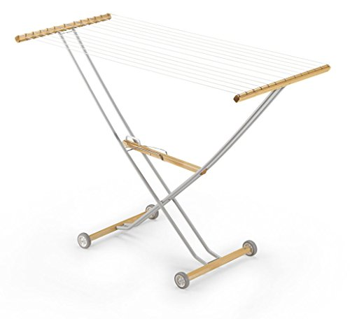 Aris Tensor - Folding Clothes Drying Rack - Handcrafted in I