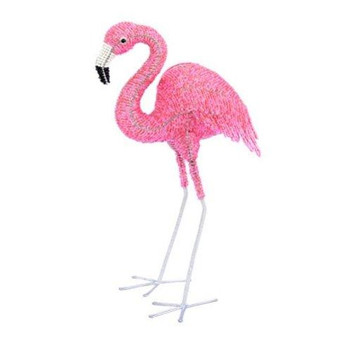 Beadworx Grass (Grass Roots Creations Flamingo Beadworx Sculpture, Large, Pink)