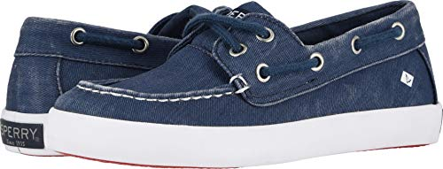 SPERRY Kids Boy's Tuck (Little Kid/Big Kid) Saltwash Navy 13 M US Little Kid ()