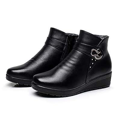 Amazon.com | Fashion Women Snow Boots Elderly Mother Soft