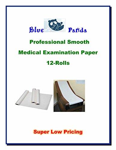 Blue Panda Examination Table Smooth Paper 14
