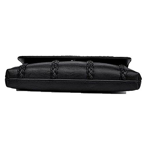 Fashion Envelope top Clutch Messenger Women's Bronze Shoulder New Handbag Bag Soft 4gCYw