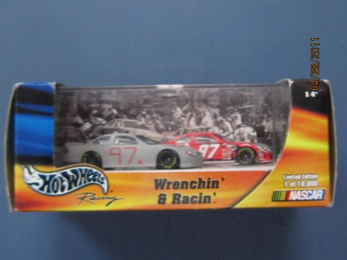 Kurt Busch Car - Hot Wheels Wrenchin & Racin 1 of 10,000 # 97 Kurt Busch 2 Car Set