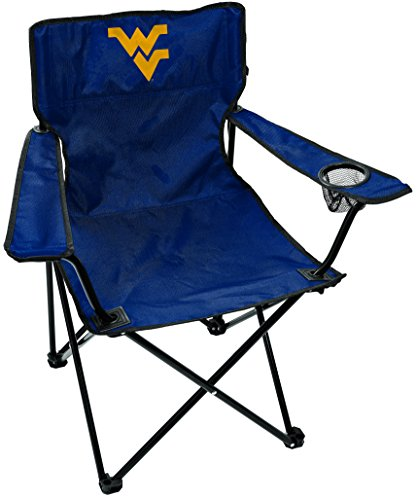 (Rawlings NCAA West Virginia Mountaineers Unisex LP0056NCAA Game Changer Chair, Black, Adult)