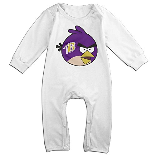 Ahey Boy's & Girl's Baltimore Football Team Long Sleeve Outfits 18 Months (Tennis Player Costumes)