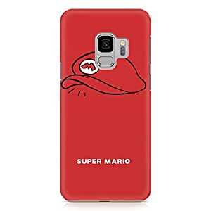 Loud Universe Mario Cap Samsung S9 Case Plumber Hat Samsung S9 Cover with 3d Wrap around Edges
