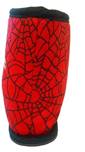 Jungen Marvel Spider-Man Winter Hausschuh Boots Schuhe Schwarz Kleinkinder Kindergröße UK 7 - 12