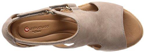 Clarks Women's Un Plaza Ankle Strap Sandals Grey (Grey Nubuck) cheap sale 2015 ciltG