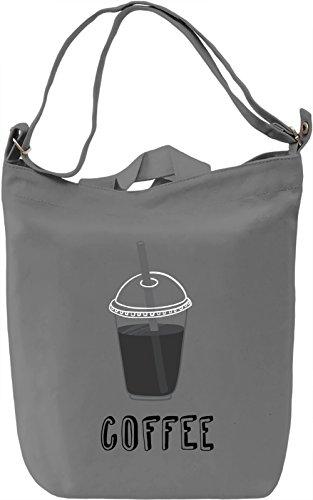 Coffee Borsa Giornaliera Canvas Canvas Day Bag| 100% Premium Cotton Canvas| DTG Printing|
