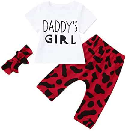 e6f5319e4781f 3pcs Baby Outfit Set, 2019 New Toddler Girl Letter Printed T-Shirt+Shorts