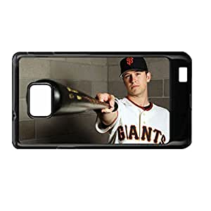 Design With Buster Posey Art Back Phone Cover For Girl For S2 I9100 Galaxy Samsung Choose Design 3