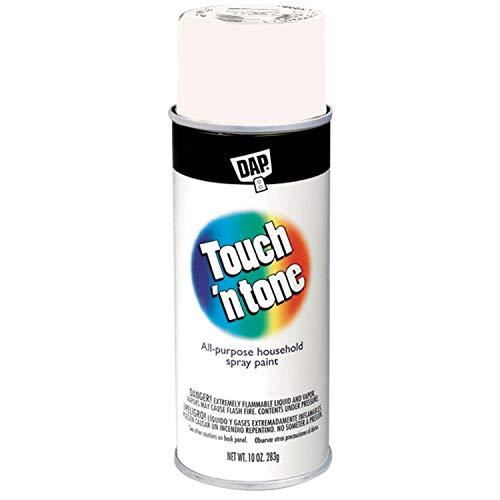 (Touch N Tone Spray Paint 55281830, 10 oz, Gloss Antique White)