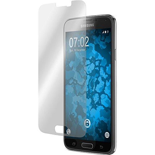4 x Samsung Galaxy S5 Displayschutzfolie klar - clear Displayschutzfolie PhoneNatic Schutzfolien