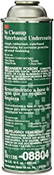 3M 08804 No Cleanup Waterbased Undercoating - 18 fl. oz.