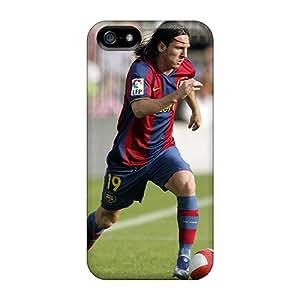 JohnPrimeauMaurice Iphone 5/5s Shockproof Hard Phone Case Customized Vivid Messi Image [oLh10329IvMN]