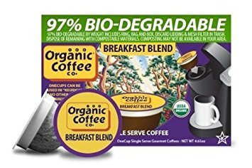 (The ORGANIC COFFEE COMPANY BREAKFAST BLEND 12 ONE CUPS for Keurig Brewers)
