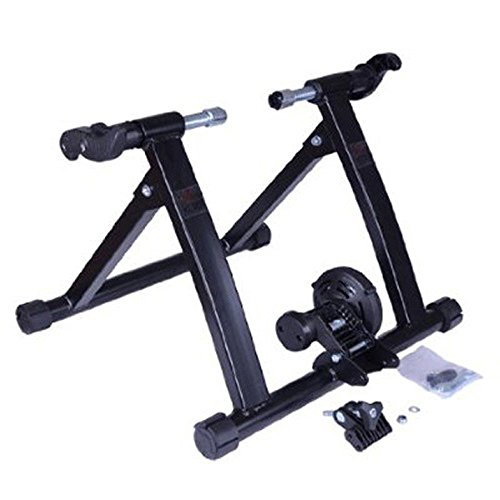 Soozier Magnetic Resistance Cycling Indoor Bike Trainer Stand - Black