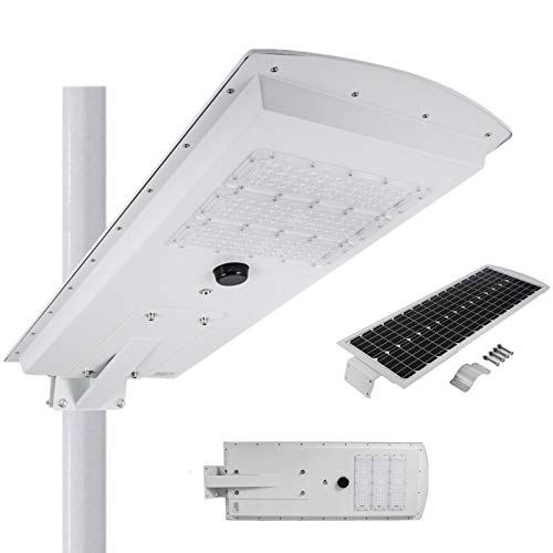 Pole Mounted Solar Security Light in US - 9