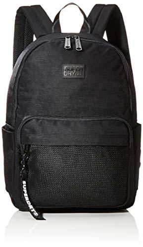 Superdry Damen Mesh Pocket Backpack Rucksack, 35x20x45 cm