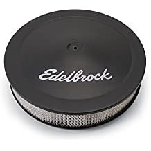 "Edelbrock 1223 Pro-Flo Black Finish 3"" Round Air Filter Element with 14"" Diameter"