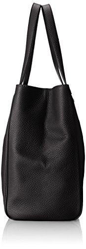 Tommy Hilfiger Maggie Pebble East West Tote Donna Nero
