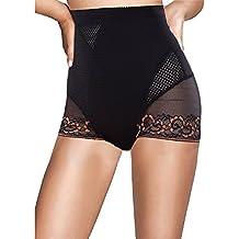 Womens High Waist Panties for Briefs Cotton Underwear Top Panty Butt lifter Tummy Control