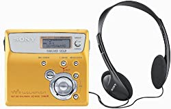 Sony Mz-n505 Net Md Walkman Playerrecorder (Gold)
