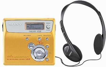 Gold Sony MZ-N505 Net MD Walkman Player/Recorder Portable Audio ...