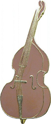 (Fiddle - Brown Bass Fiddle - Enamel)