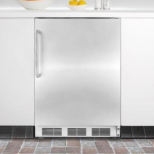 Summit FF6BISSTB Refrigerator Stainless Steel