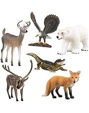Terra by Battat – Farm Animal Set – Realistic Cow Toys, Bull Toys, and Farm Animal Toys for Kids 3+