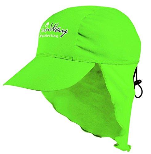 SunWay Baby Kids Girls Boys Green Legionnaire Hat Cap UV protective (UPF 50+)