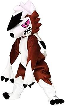 rushopn Lycanroc Lugarugan Pokémon Go - Disfraz de Lobo: Amazon.es ...