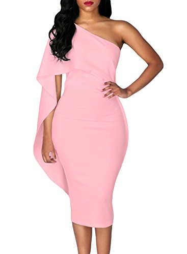 Pink Ruffled Dress - 6