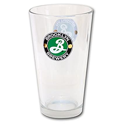 67367152 Brooklyn Brewery Pint Glass: Amazon.co.uk: Kitchen & Home