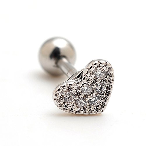 Pieces Rhinestone Cartilage Earrings Piercings