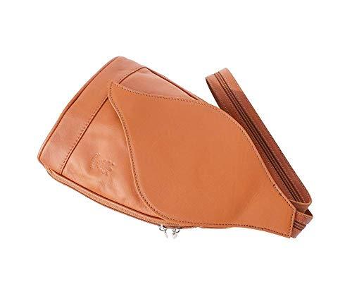 In Florence Cuoio Market Borsa Zaino A 2060 Apertura Borse Con Pelle Foglia Leather Gm n6ran